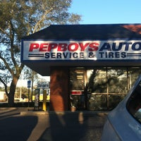 Photo taken at Pep Boys Auto Service & Tire by Meghann Q. on 4/6/2013