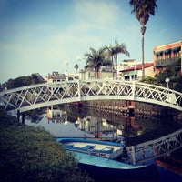 Photo taken at Venice Canals by Ian W. on 11/25/2012
