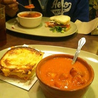 Photo taken at Panera Bread by Crystal O. on 11/19/2012