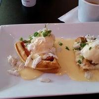 Photo taken at Waffles INcaffeinated by Terri on 6/29/2014