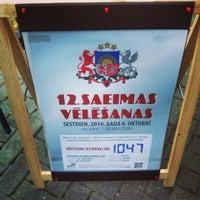Photo taken at Botschaft Der Republik Lettland by Ilze B. on 10/29/2014