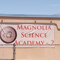 Photo taken at Magnolia Science Academy 2 by Corey P. on 5/28/2013