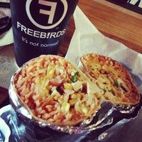 Photo taken at Freebirds World Burrito by Jarinee A. on 11/10/2012