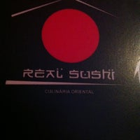 Photo taken at Real Sushi by Anne C. on 12/28/2012