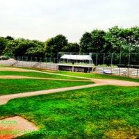 Das Foto wurde bei Baseballstadion Rheinaue von ich am 9/5/2013 aufgenommen