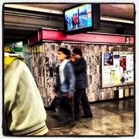 Photo taken at Metro Salto Del Agua [Líneas 1 y 8] by Raul M. on 6/24/2013