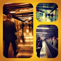 Photo taken at Metro Viaducto (Línea 2) by Raul M. on 11/30/2012