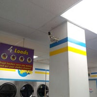 Photo taken at Spin Cycle Coin Laundry by Justin H. on 2/19/2013