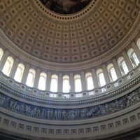 Photo taken at Rotunda of the U.S. Capitol by Laurel P. on 1/3/2013