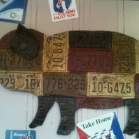 Photo taken at Rustys Bar-B-Q by Jamie G. on 9/27/2012