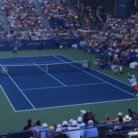 Photo taken at Practice Court 6 / Old Grandstand - USTA Billie Jean King National Tennis Center by Chris W. on 9/5/2015