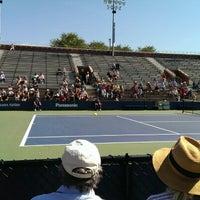 Photo taken at Court 7 - USTA Billie Jean King National Tennis Center by Chris W. on 9/7/2013
