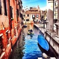 Photo taken at Ponte Della Scuola by Lorenzo C. on 3/5/2014