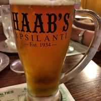 Photo taken at Haab's Restaurant by Tim T. on 5/9/2014
