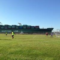 Photo taken at Alameda Point Fields by Hardwin C. on 5/31/2013