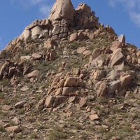 Photo taken at Pinnacle Peak Park by Barry J. on 2/21/2013