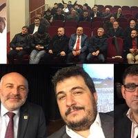 Photo taken at atatürk kültür merkezi by Levent Ç. on 12/20/2016