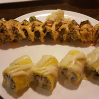 Photo taken at FuGu Sushi by Melissa L. on 7/27/2016