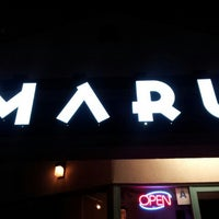 Photo taken at Maru by Manny R. on 3/27/2013