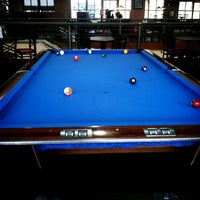 Photo taken at Blue Fin Cafe & Billiards by Edlin h. on 3/31/2013