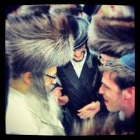 Photo taken at Big Satmar Shul by Nathan W. on 3/18/2013