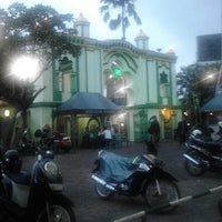 Photo taken at Masjid Agung Kauman by Danang P. on 2/1/2014