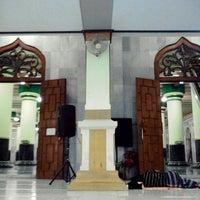 Photo taken at Masjid Agung Kauman by Danang P. on 2/17/2014