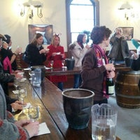Photo taken at Brotherhood, America's Oldest Winery by Timothy O. on 12/1/2012