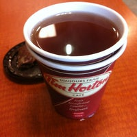Photo taken at Tim Hortons by Marta K. on 1/27/2013