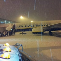 Photo taken at London Stansted Airport (STN) by Kristaps T. on 12/5/2012