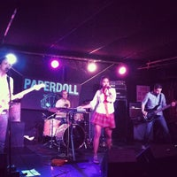 Photo taken at Mercury Lounge by Drew K. on 9/14/2012
