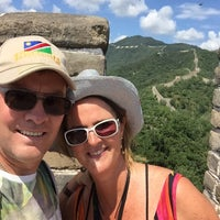 Photo taken at The Great Wall of China - Defense Tower by Ruud v. on 8/26/2015