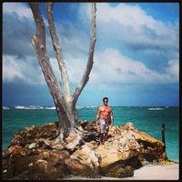 Photo taken at Playa Los Corales by Billy Y. on 1/6/2014