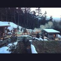 รูปภาพถ่ายที่ Scandinave Spa Whistler โดย Jenny W. เมื่อ 2/10/2013