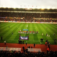 Photo taken at Bet365 Stadium by Robert O. on 11/25/2012