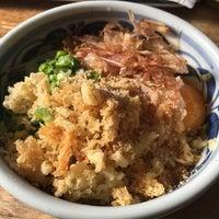 Photo taken at うどんYA by Kentaro S. on 12/2/2017