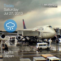 Photo taken at Narita International Airport (NRT) by Mark B. on 7/27/2013