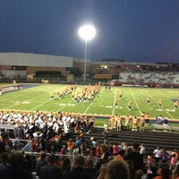 Photo taken at Naperville North High School by Dale B. on 9/7/2013
