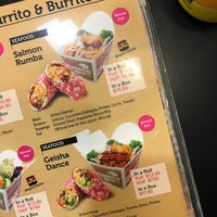 Photo taken at Sushi Burrito by Kasia K. on 1/29/2017
