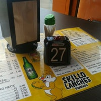 Photo taken at Skillo Lanches by Sandra A. on 12/15/2012