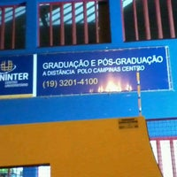 Photo taken at UNINTER - Pólo Campinas by Duda E. on 4/11/2013
