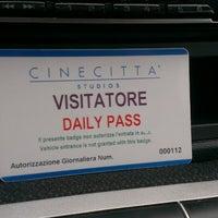 Photo taken at Cinecittà Studios by Pierluigi F. on 10/8/2013