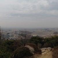 Photo taken at 배산 팔각정(전망대) by Ki-yong Y. on 4/5/2013