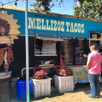 Photo taken at Mellizoz Tacos by Girl Gone Travel on 4/12/2013