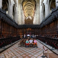 Photo taken at Cathédrale Sainte Marie by Girl Gone Travel on 7/2/2014