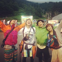 Photo taken at Fuji Rock Festival '13 Camp Site by has on 7/28/2013