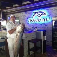 11/29/2012 tarihinde Huseyin E.ziyaretçi tarafından Cundalı Ayvalık Balıkçısı'de çekilen fotoğraf