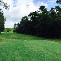 Photo taken at Disney's Oak Trail Golf Course by Carlos F. on 7/18/2015