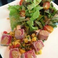 Photo taken at YASASHII Japanese Fusion Cuisine by Chu C. on 6/9/2013