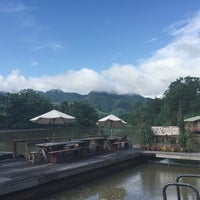 Photo taken at River Kwai Jungle View Resort by Porziie M. on 10/3/2016